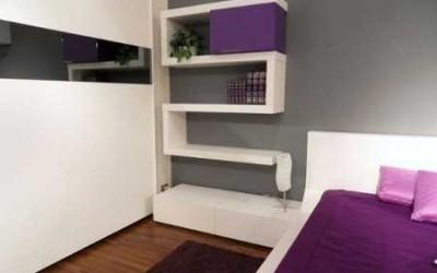 Nueva tendencia: pintar de dos colores una habitación